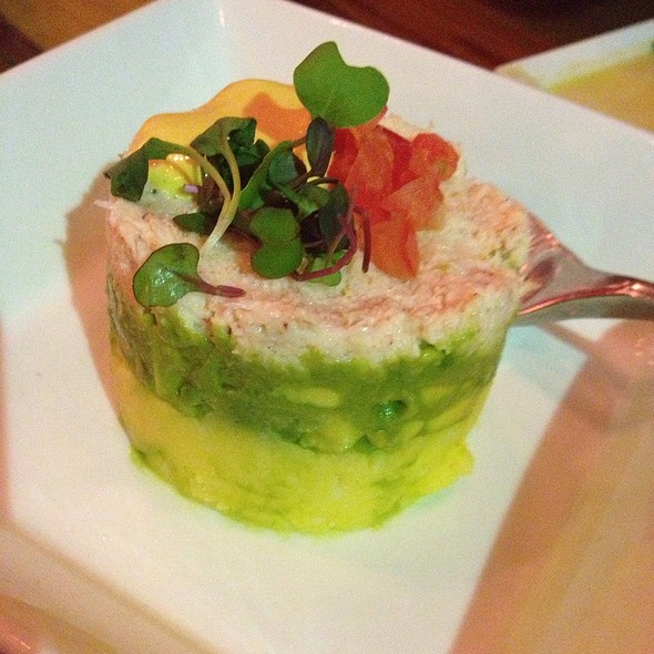 Causa De Cangrejo- Crab, Avocado, & Cold Mashed Potato @ Mo-Chica