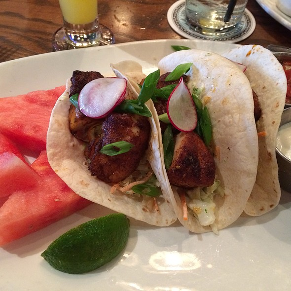 fish tacos - City Oyster & Sushi Bar, Delray Beach, FL