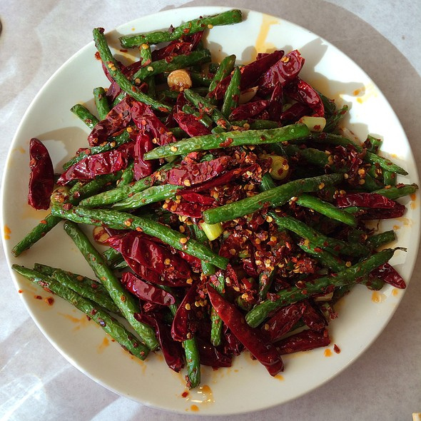 Chef's Special Dry Chili String Beans