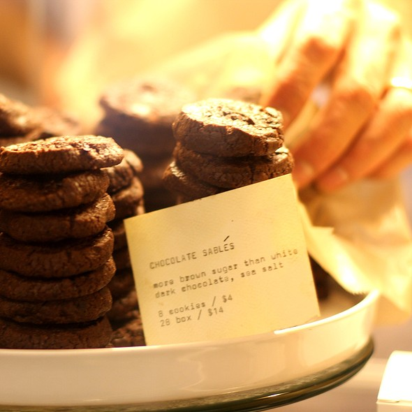 Chocolate Sables @ Vergennes Laundry