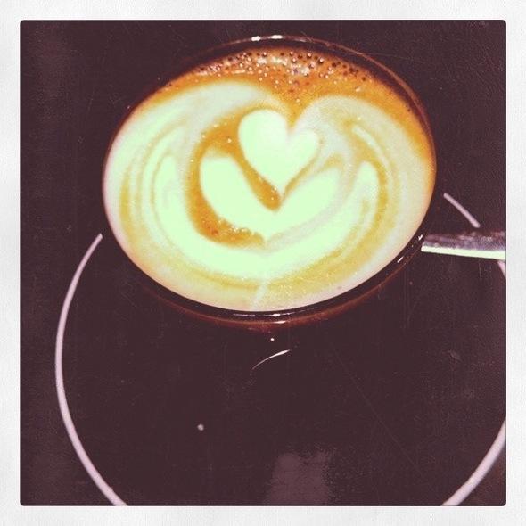 Cafe Latte @ Nude Espresso