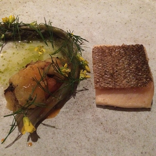 Smoke Trout, Escarole, Sweet Potatoes, Dill
