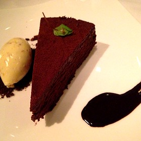Gotham Chocolate Cake - Gotham Bar and Grill, New York, NY