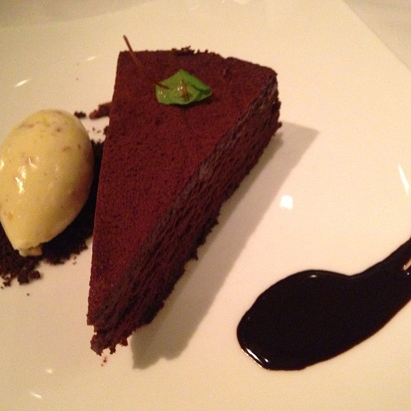 Gotham Chocolate Cake - Gotham Bar and Grill, New York, NY