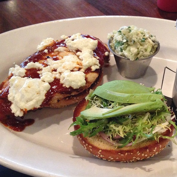 Chicken Avocado Melt - Racks Downtown Eatery + Tavern, Boca Raton, FL