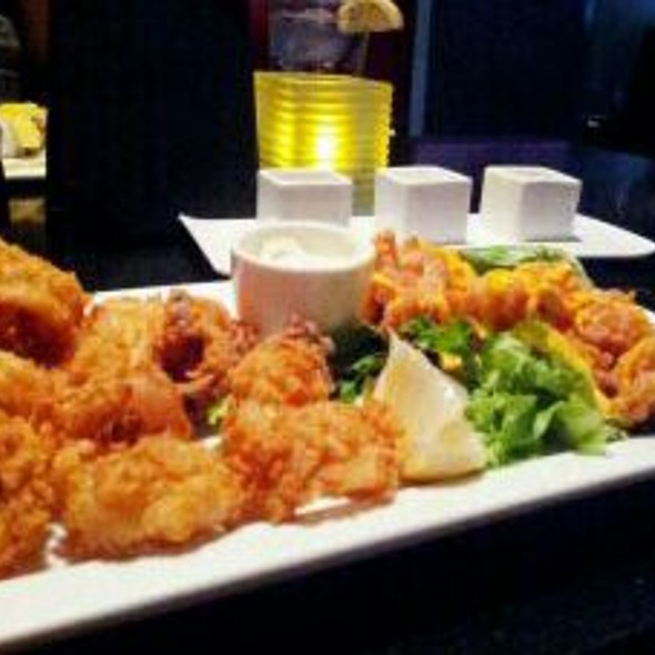 Battered Shrimp And Calamari