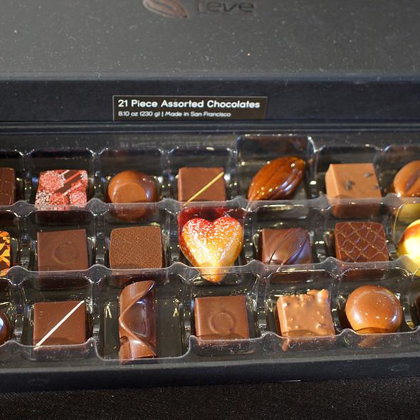 Feve Truffle Box @ SF Chocolate Salon
