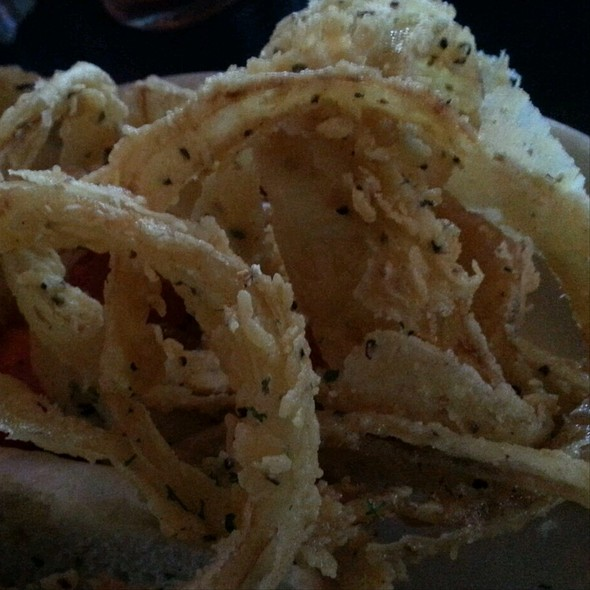 Onions Rings @ Blind Tiger The