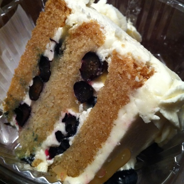 Vegan Lemon Blueberry Cake @ Whole Foods Market - Park Lane