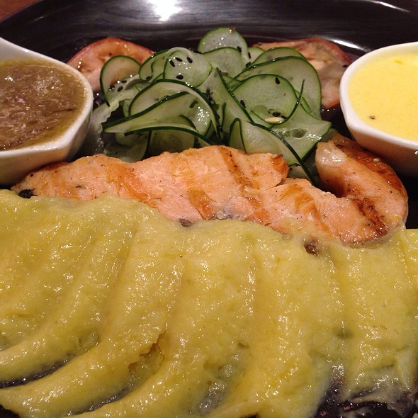 Baked Salmon @ Love Shack