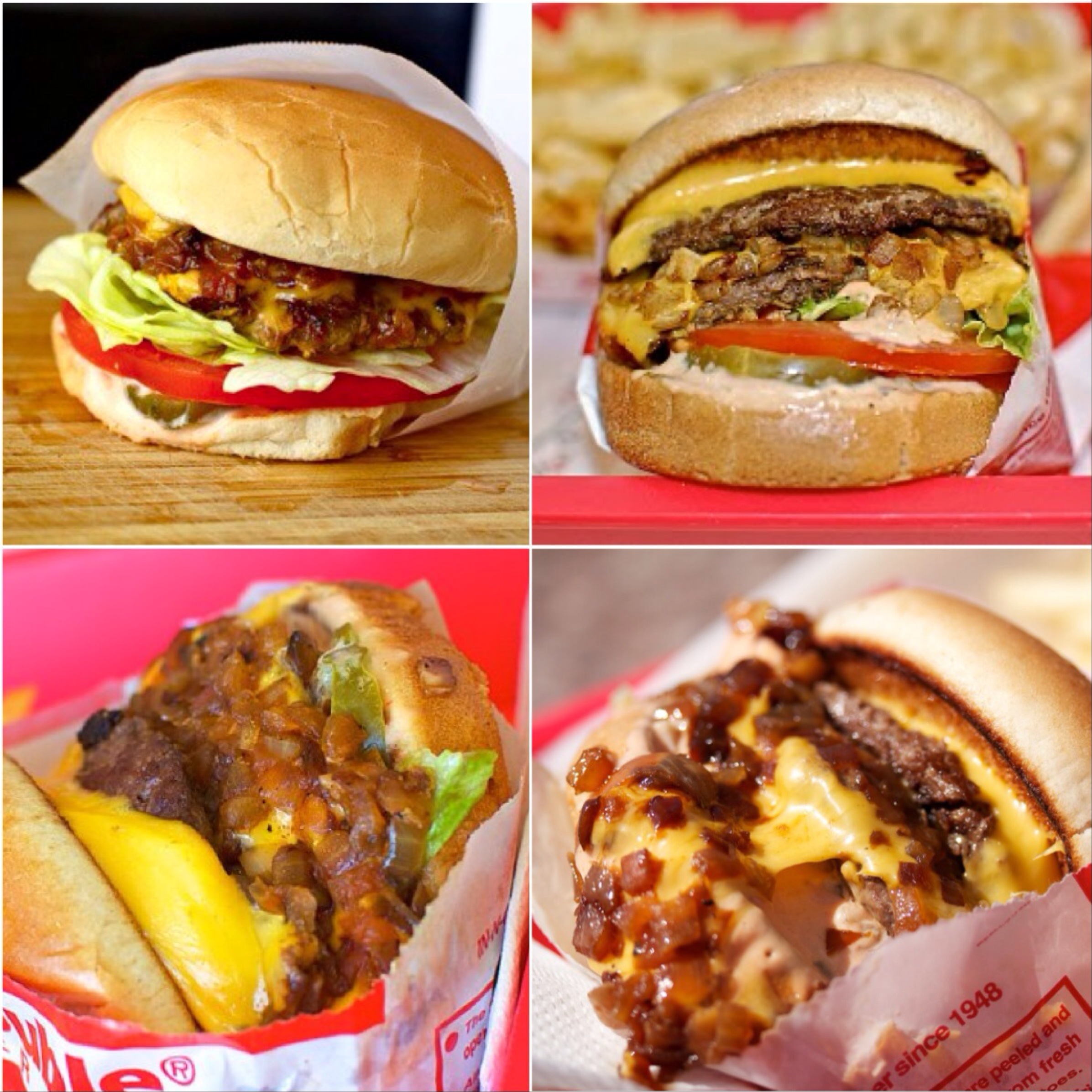 in n out burger menu los angeles ca foodspotting. Black Bedroom Furniture Sets. Home Design Ideas