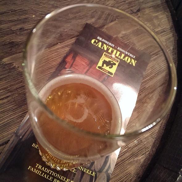 Gueuze Cantillon @ Brasserie Cantillon