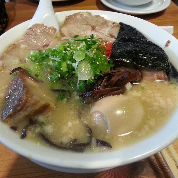 Tonkatsu Deluxe Ramen @ Himawari-Tei