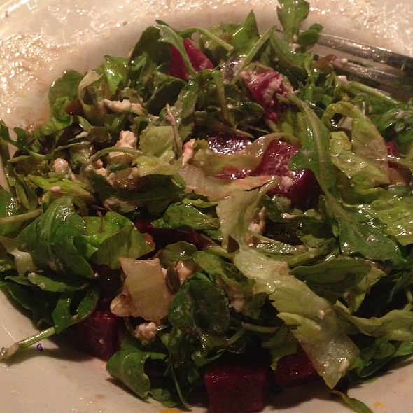 Beet and Goat Cheese Salad @ Olive Tree Cafe
