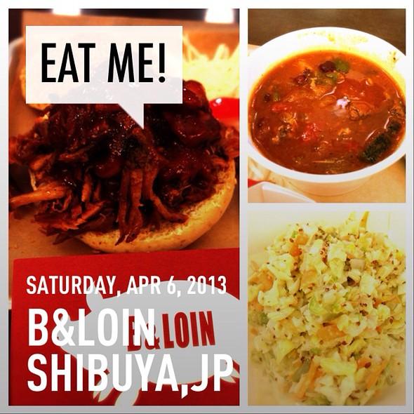 BBQ Lunch Plate @ B&Loin