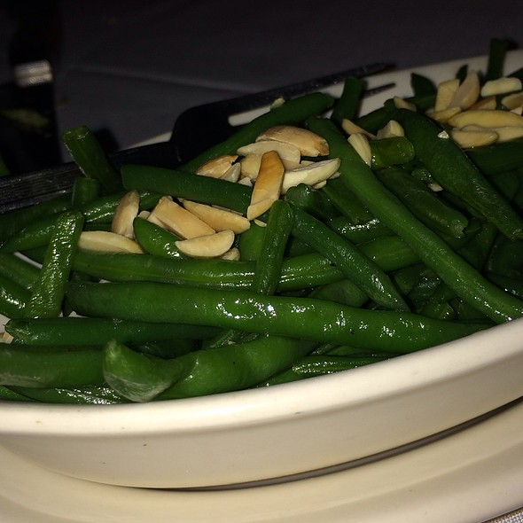 Green beans - Myron's at Alon Town Center, San Antonio, TX