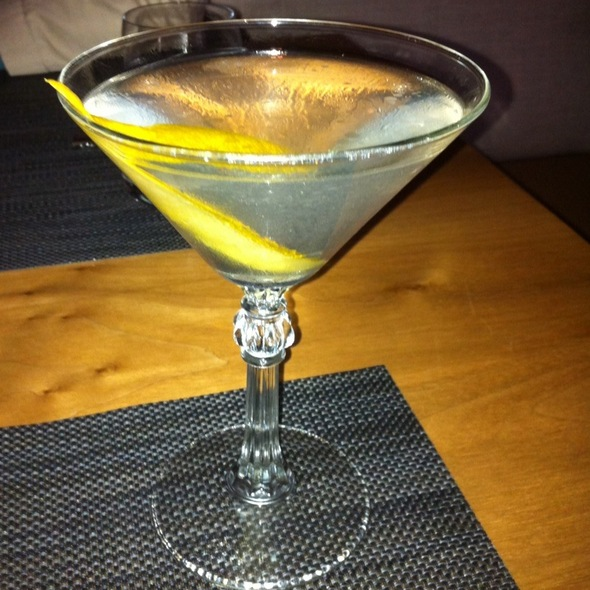 Martini @ Rivera Restaurant / Old Concept