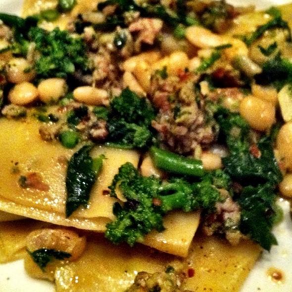 Paccheri, Pork Sausage & Broccoli Rabe @ Incanto