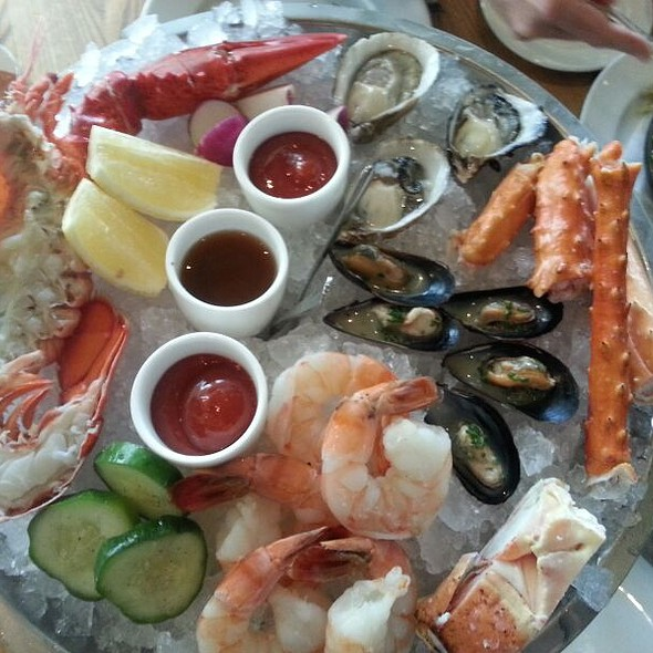 Seafood Tower @ Ella Dining Room & Bar
