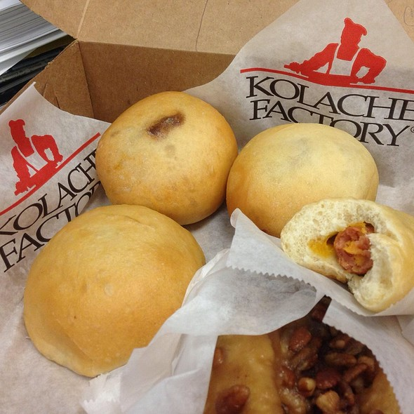 Kolaches @ Kolache Factory Bakery & Cafe