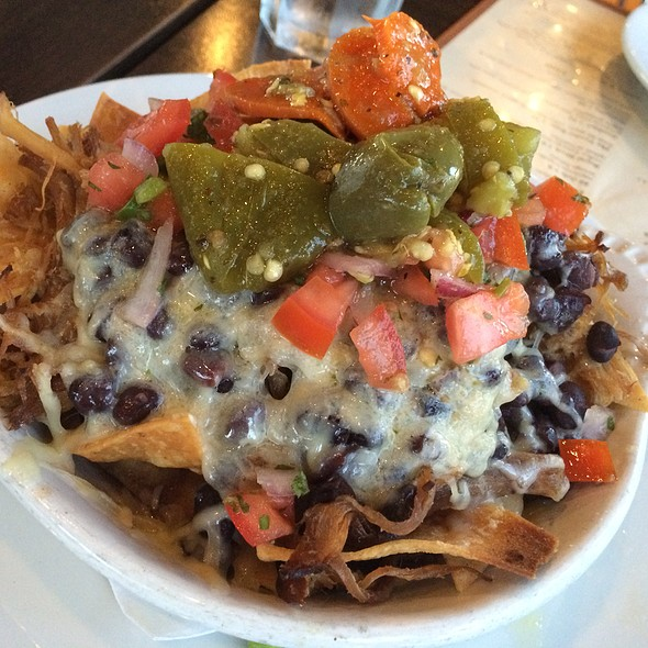 Smokehouse Nachos  @ T-Rex Barbeque