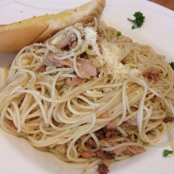 Anchovies And Tuna Pasta @ Qizia Café