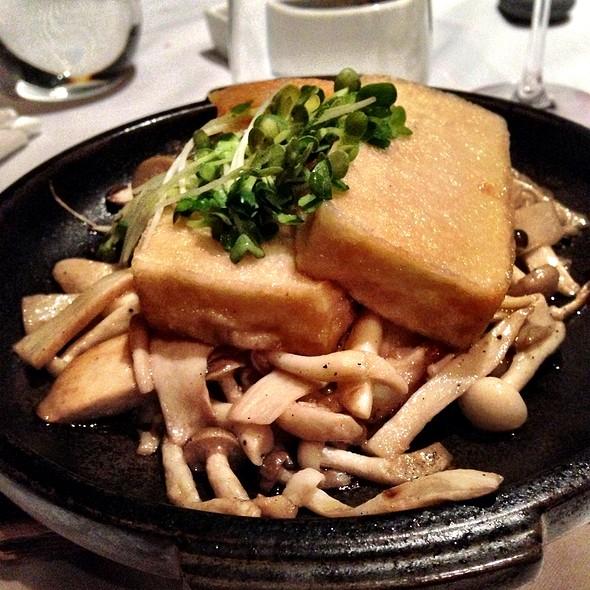 Mushroom Tofu Tobanyaki