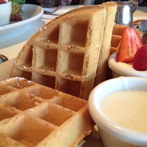 Honey Belgian Waffles  @ Oddfellows