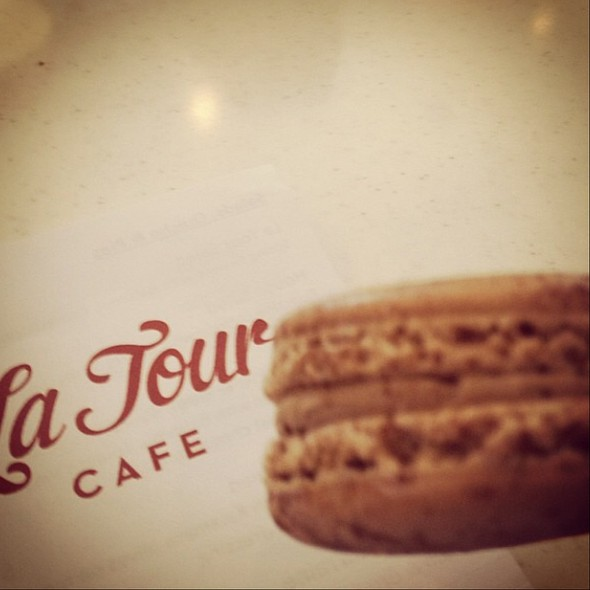 Assorted Macaroons @ La Tour Cafe