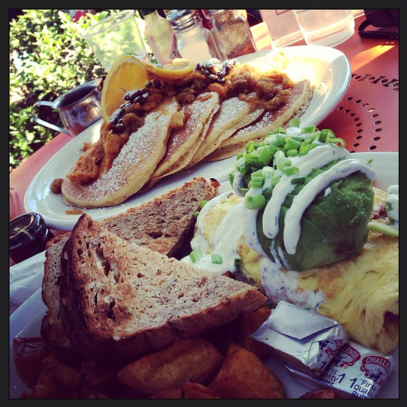 Smoked Salmon Scrambler @ Alcove Cafe & Bakery