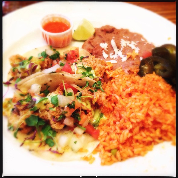 Oyster Tacos @ Acenar