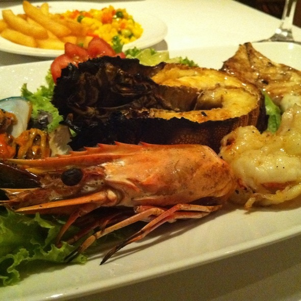 Smoked Combination Seafood @ Neil's Tavern Restaurant & Bake Shop
