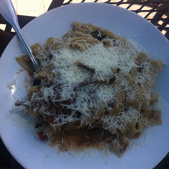 Rabbit Ragu with Pappardelle - Caffe Dolce, Missoula, MT