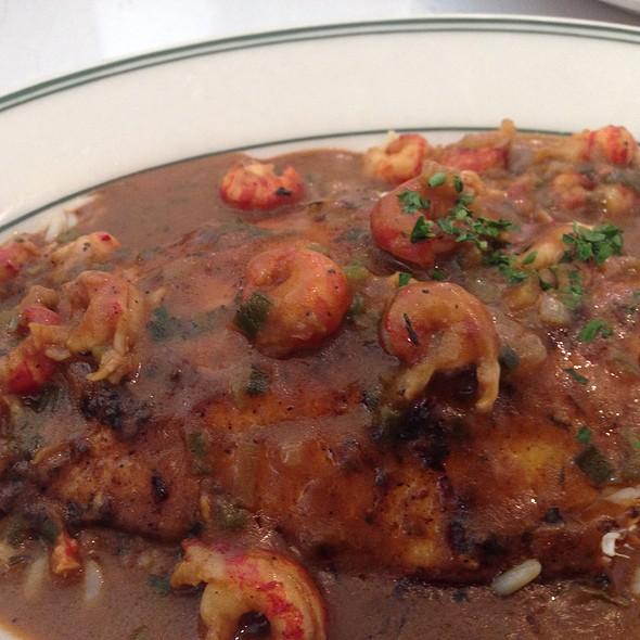 Peruvian Blue Tilapia Blackend W/ Crawfish Etouffe - Mac's Bar & Grill, Arlington, TX