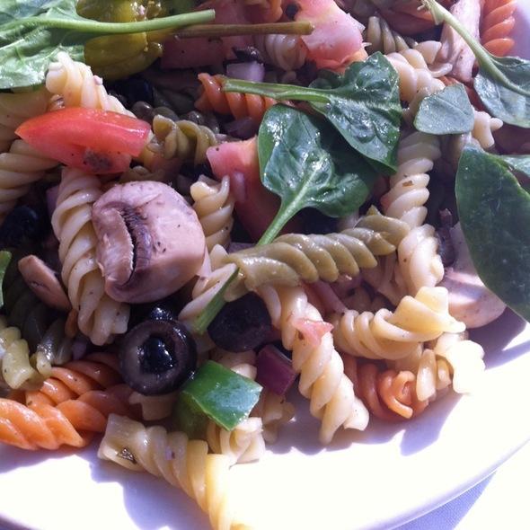 Pasta Primavera @ Old Pecan Street Cafe