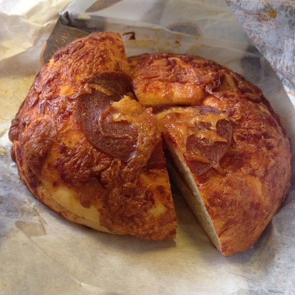 Pepperoni Tomazzo @ Great American Bagel Bakery