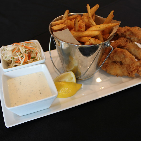 Fish and Chips - Waterside Grill – Tampa Marriott Waterside, Tampa, FL