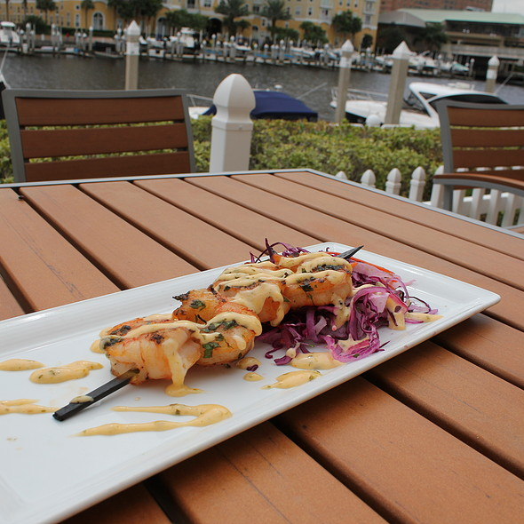 Wood Grilled Gulf Shrimp - Waterside Grill – Tampa Marriott Waterside, Tampa, FL