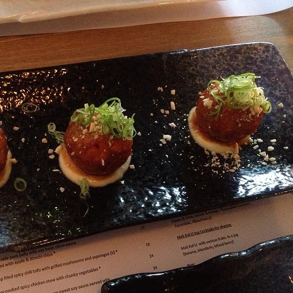 Deep Fried Seafood Balls  @ Deep Fried Seafood Ball