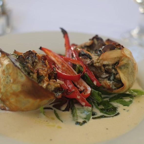Chicken, Wild Mushroom, and Leek Crepes @ Arcadia Farms