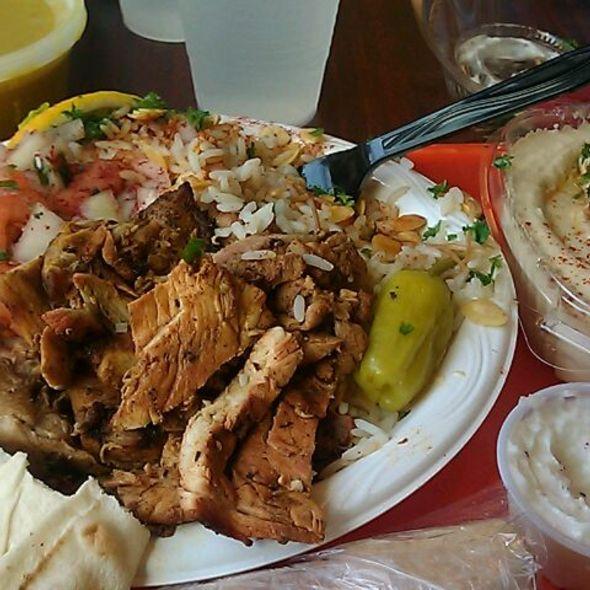 Chicken Shawarma @ CK Mediterranean