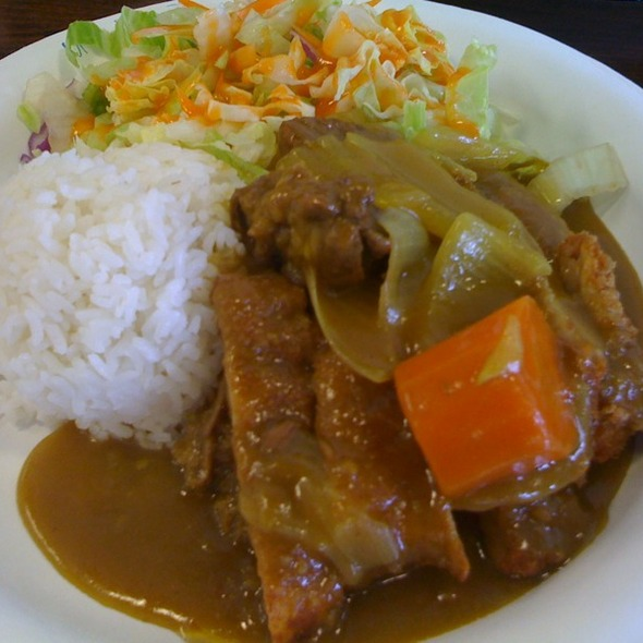 Chicken Katsu Curry @ Fatboy's Waipio