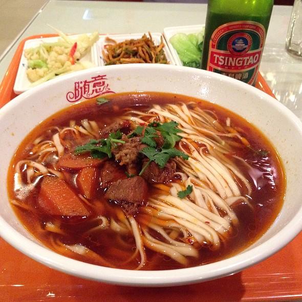 Shandong Beef Noodle Soup @ Noodle House