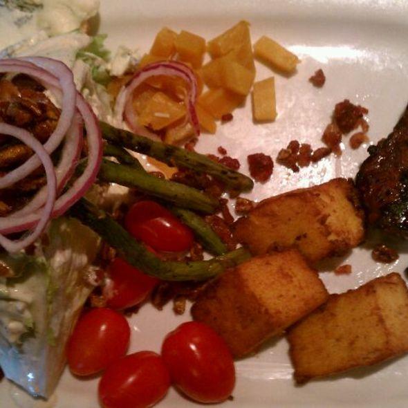 Steak and Wedge Salad @ Houlihan's