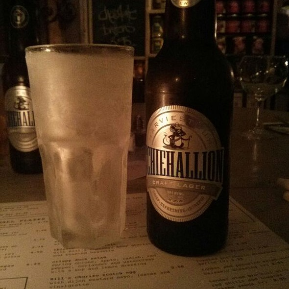 Schiehallion Craft Ale @ Bill's