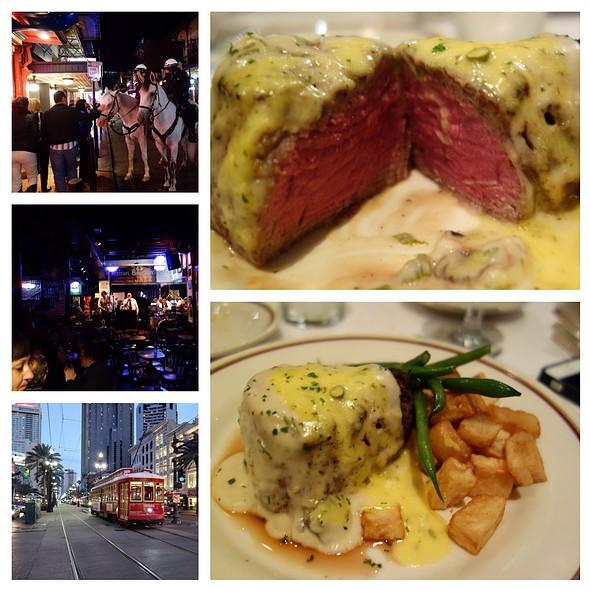 Filet Charlemond - Arnaud's, New Orleans, LA