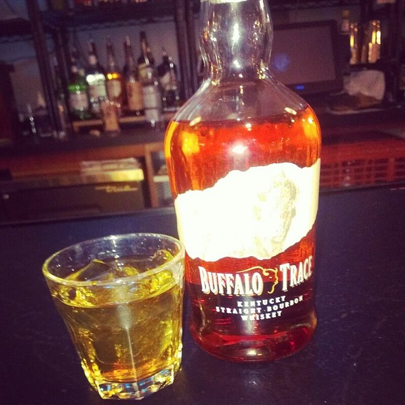 Buffalo Trace Bourbon - Dilly Bistro, Bar & Bottle Shop, Cincinnati, OH