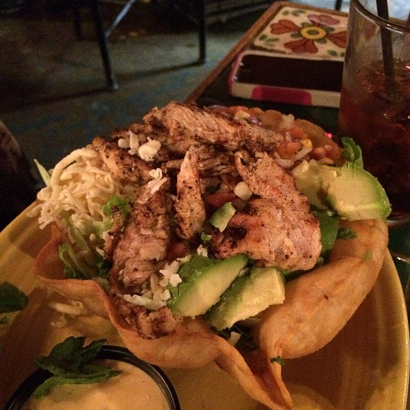 Chicken Taco Salad - Blue Agave Restaurante y Tequileria, Baltimore, MD