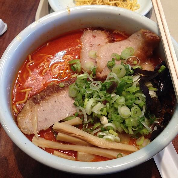 Pork Cheek Spicy Miso Ramen