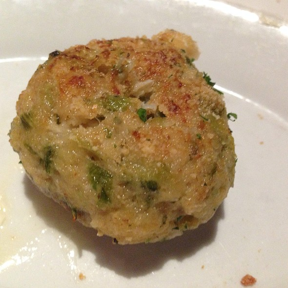 Crab Stuffed Mushroom @ Ruth's Chris Steakhouse Tampa
